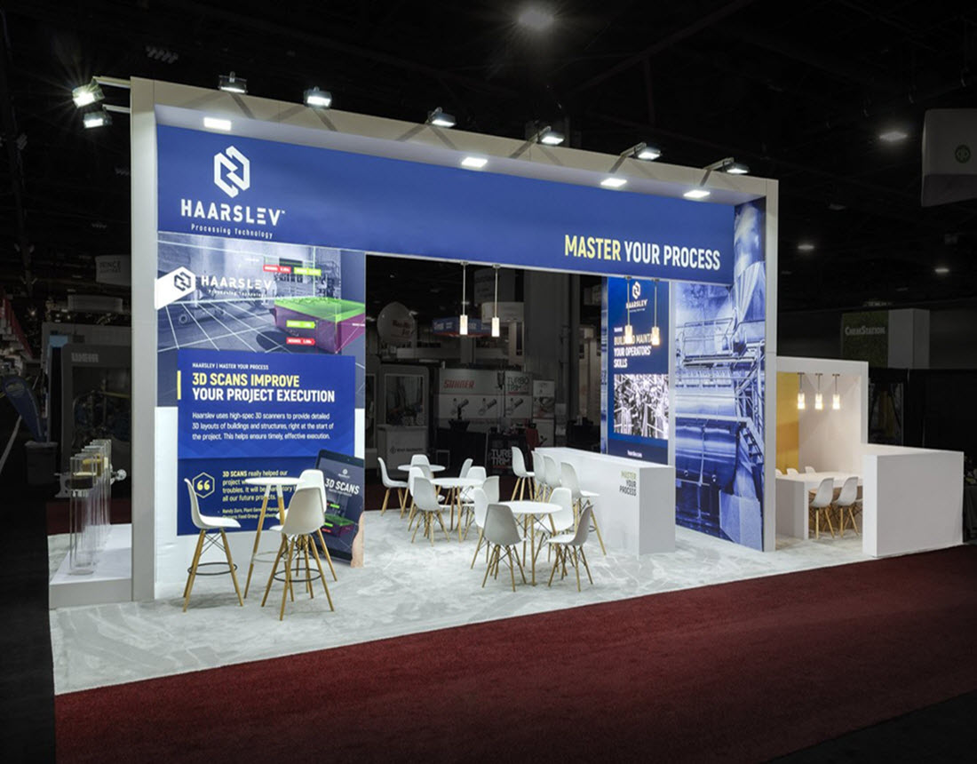 Trade Show Exhibit Booth Rental